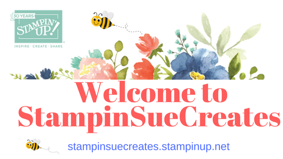Welcome to Stampin Sue Creates