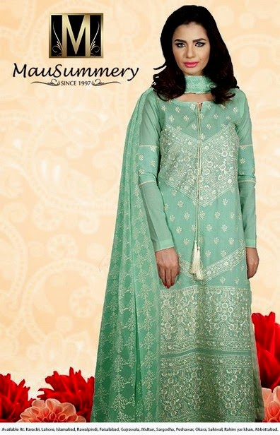 Mausummery Eid Collection 2014-2015
