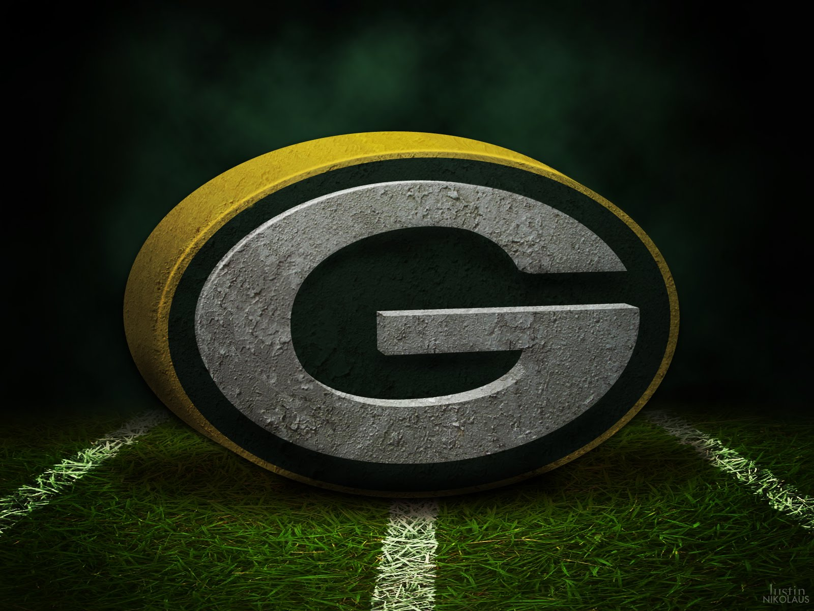 Green Bay Packers Wallpaper Creative Logo