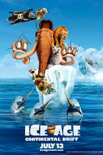 ice age 4 continental drift 2012 DVD