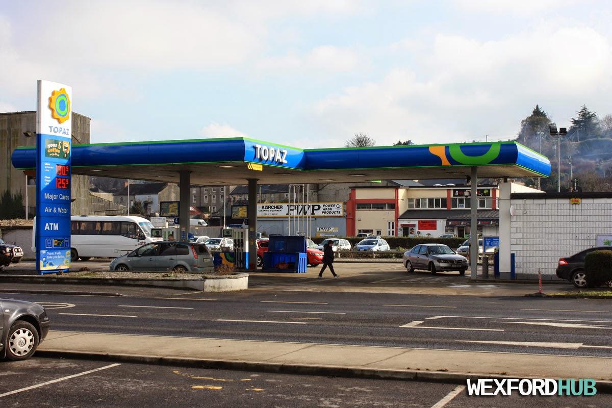 Topaz petrol station