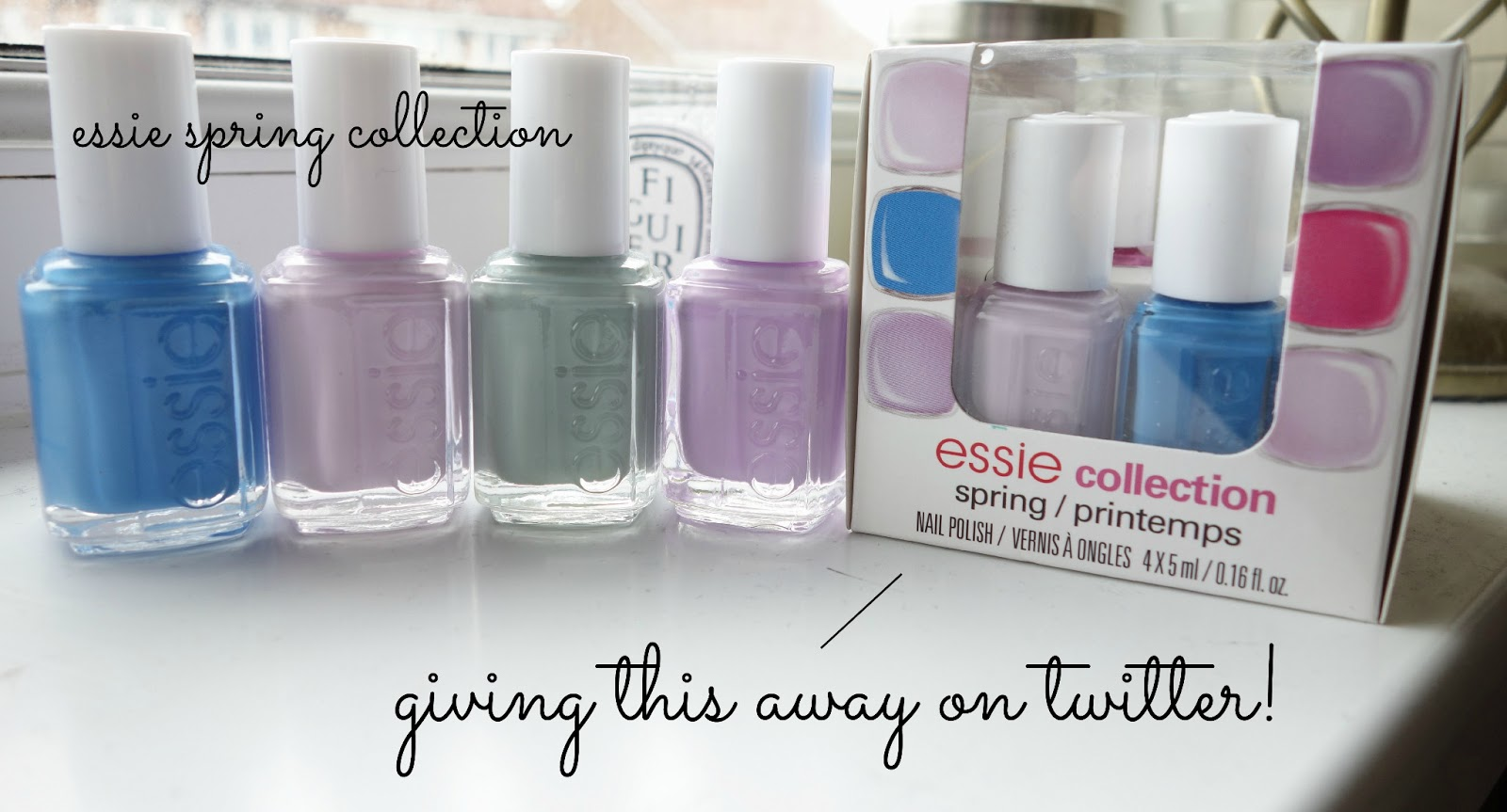essie spring 2013 collection, essie bond with whomever, essie avenue maintain, essie go ginza, essie maximillian strausse-her