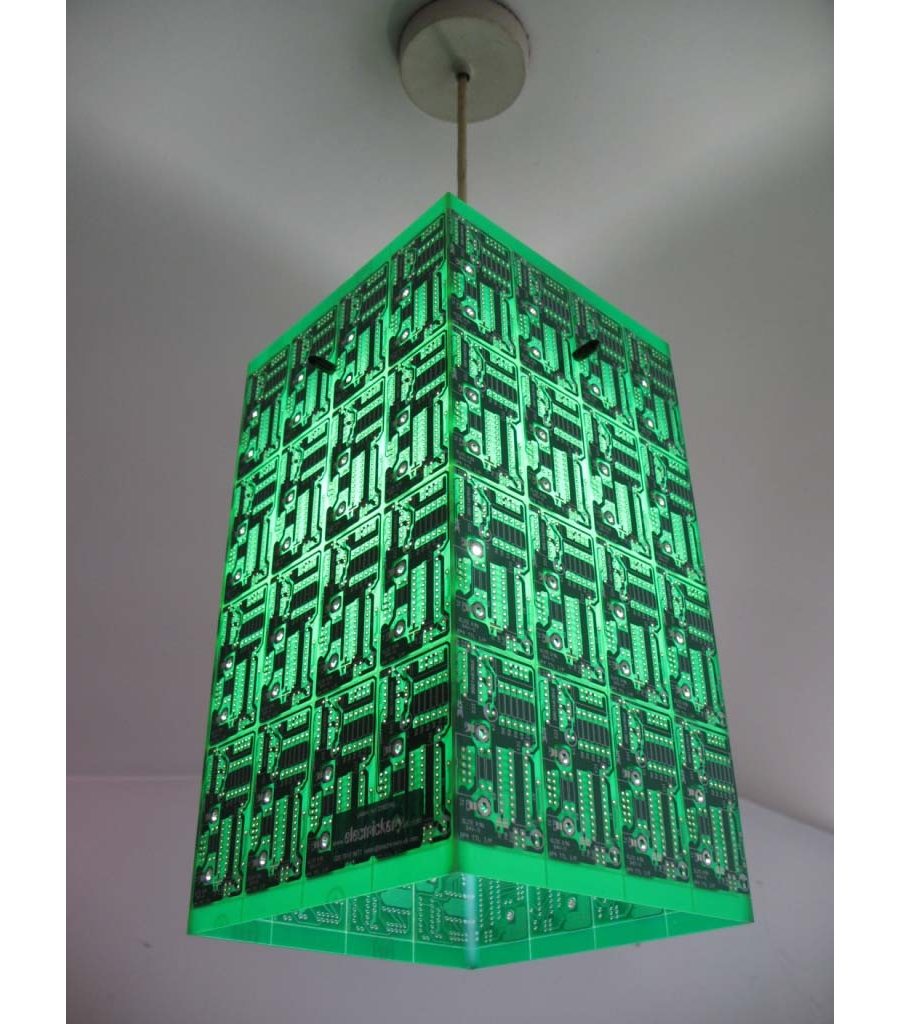 How To Recycle Recycled Circuit Board Art Notebook Lightings Cover