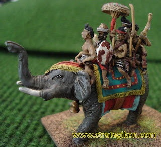 General on elephant