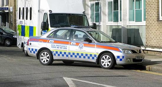 Proton Jadi Kereta Peronda Polis UK