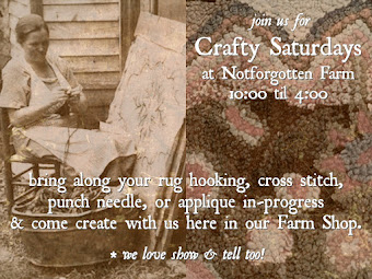 Come Create with Me ~ each Saturday from 10 - 4