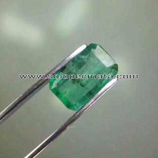 Batu Permata Emerald Beryl Zamrud