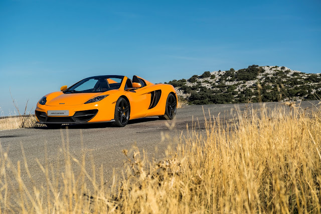 McLaren Offers 12C Coupe and Spyder 50th Anniversary Editions