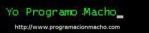 Programación Macho ®