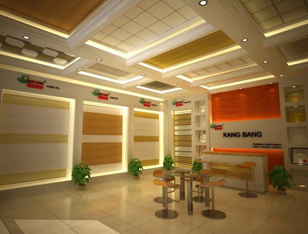 Kang Bang Lampung Plafon PVC