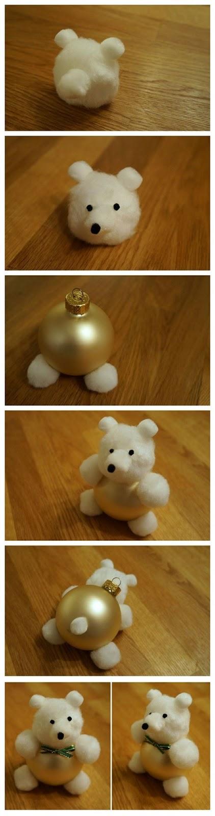 Panda Bear Ornament Craft