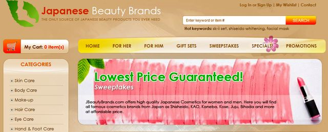 Cosmetics Brands