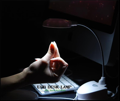 usb lamp with sound activation