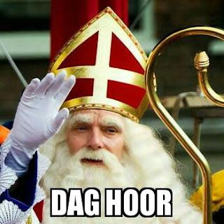 Sinterklaas dag hoor meme
