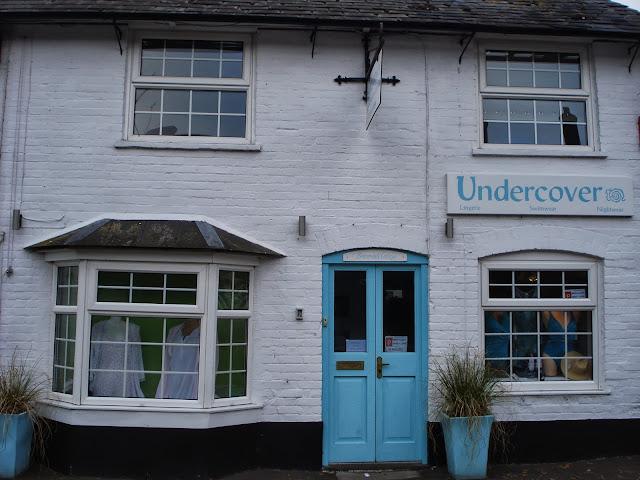 Undercover, the exterior, Stockbridge High St.