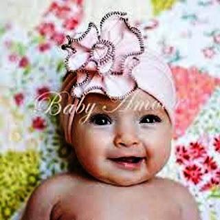 Model Turban Bayi Lucu dan Cantik