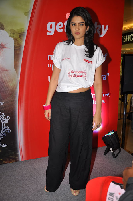 deeksha seth at inorbit mall for ukup promotion latest photos