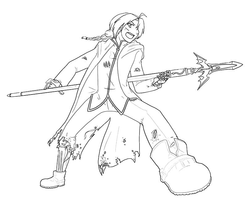 printable-edward-elric-art-coloring-pages