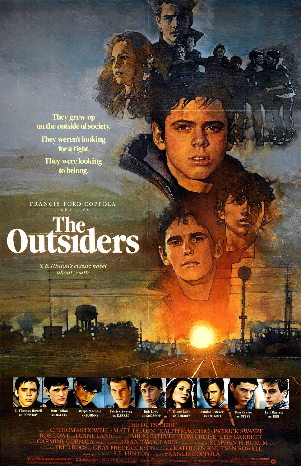 the outsiders from books to movies Amazoncom: the outsiders: tom cruise, matt dillon, emilio estevez, c thomas howell, francis ford coppola: movies & tv.