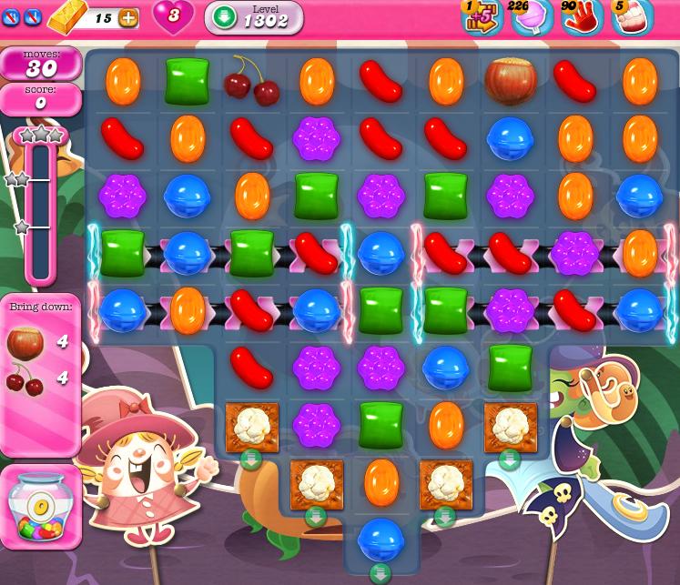 Candy Crush Saga 1302