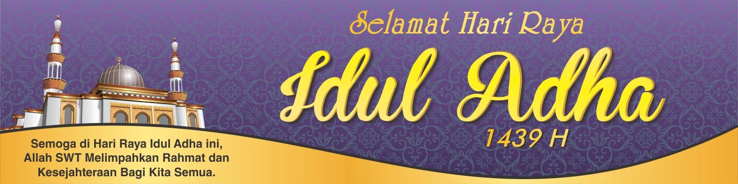Contoh Banner Panitia Qurban Simak Gambar Berikut