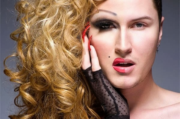 Fotografias de drag queens - Jordan Fox