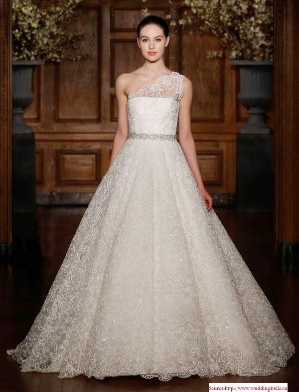 Une robe de mariée 2014