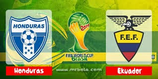 Prediksi Skor Honduras vs Ekuador 21 Juni 2014 Piala Dunia