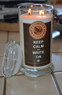 Keep Calm Candle Giveaway