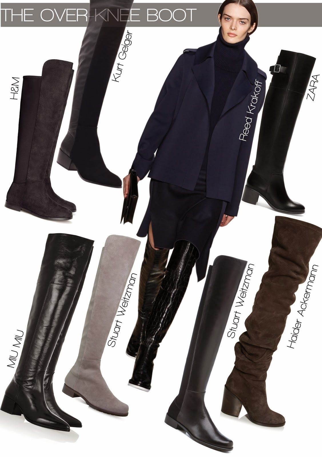 The Over-Knee Boot Trend