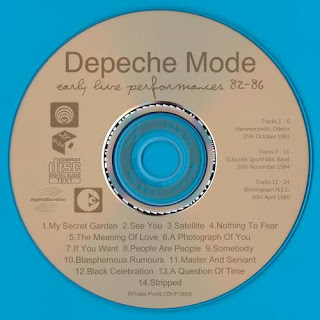 Download – CD Depeche Mode – Early Live Performances 82-86 – 2013