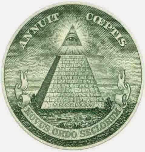 members of the Freemasons and the Illuminati.