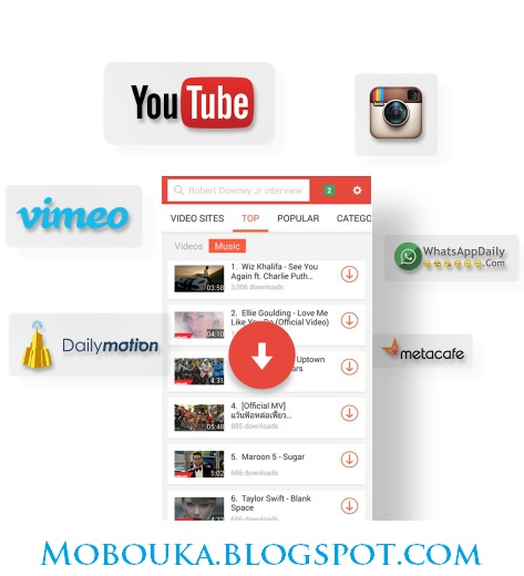 SnapTube – YouTube Downloader HD Video Final v2.4.1.8066 APK ANDROID screenshots
