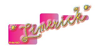 Illustration in Pink und Gelb: Limerick von das A&O