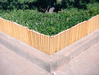 Bamboo Edging For Gardens