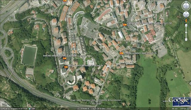 PEDRO GARRIDO CARO ETA, San Sebastián, Donostia, Guipúzcoa, Gipuzkoa, España, 23/12/78