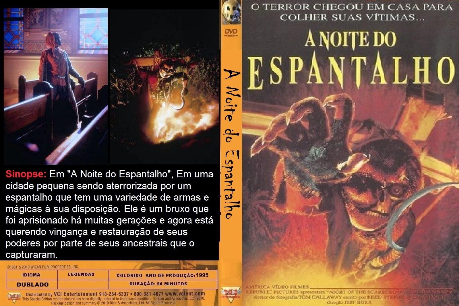 A Noite do Espantalho DVD Capa