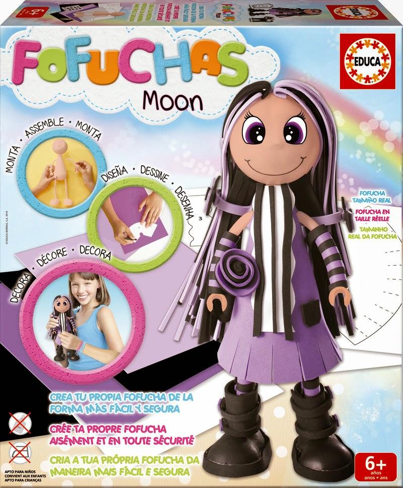 Fofucha Moon Educa Borras