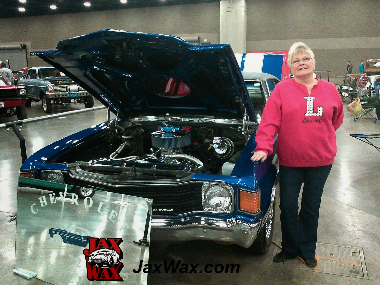 1972 Chevy Chevelle SS Carl Casper Auto Show Jax Wax Customer