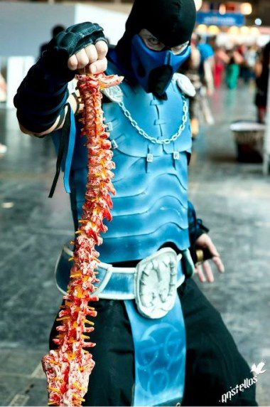Top ten cosplay costumes of all time yet another opinion if you are going to be sub zero carrying a spine around from a fallen enemy just makes everything in the world seem right solutioingenieria Image collections