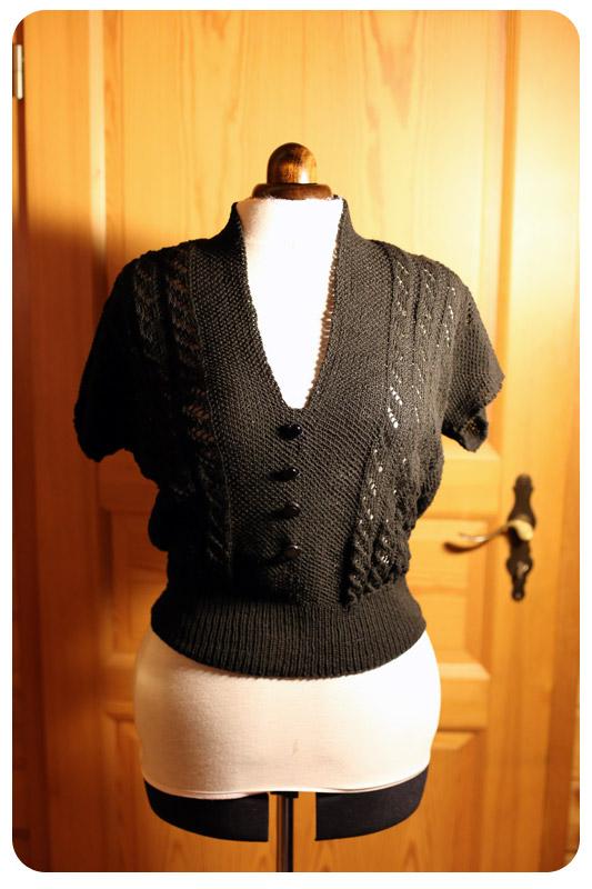 Knit Vintage - Jayne Vintage Top Vorderteil