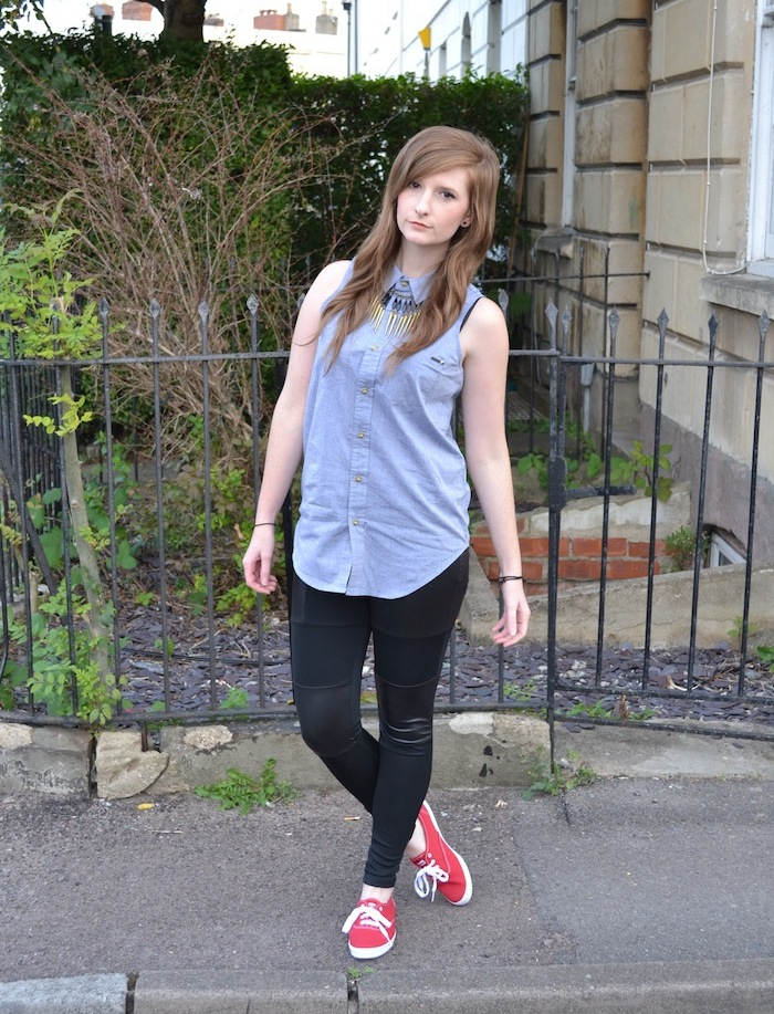 pictures of women wearing keds