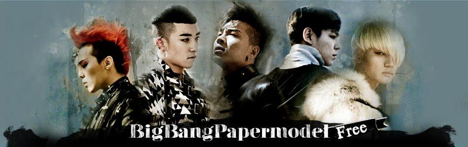 BigBang Paper Model