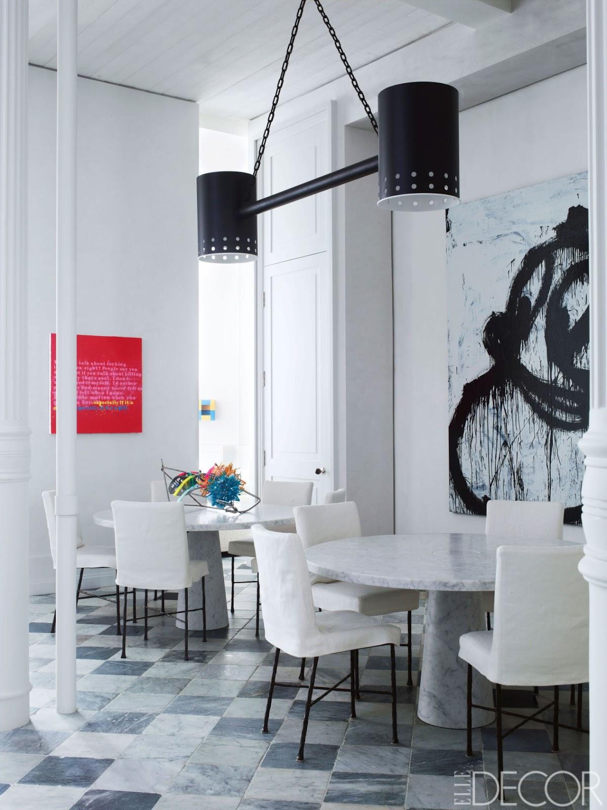 Elledecor Design Decorate House Interiors News G2837 Roberts Haynes Soho Loft Tour