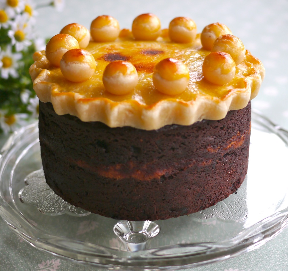 Victoria's Cake Boutique: Chocolate Simnel Cake (gluten free) with ...
