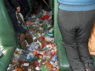 kereta api di China