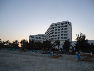 Sunrise at Kempinski Hotel Ajman