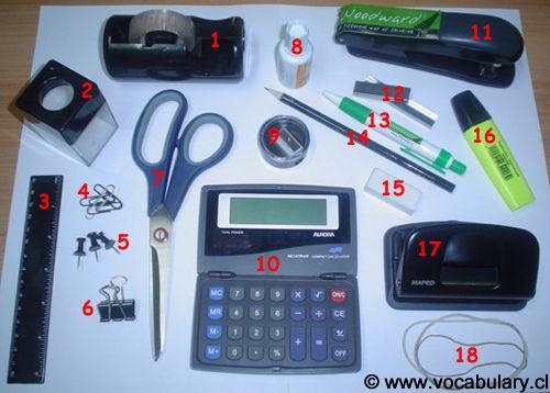 M dulo de operaciones b sicas de comunicaci n vocabulary for Material de oficina en ingles