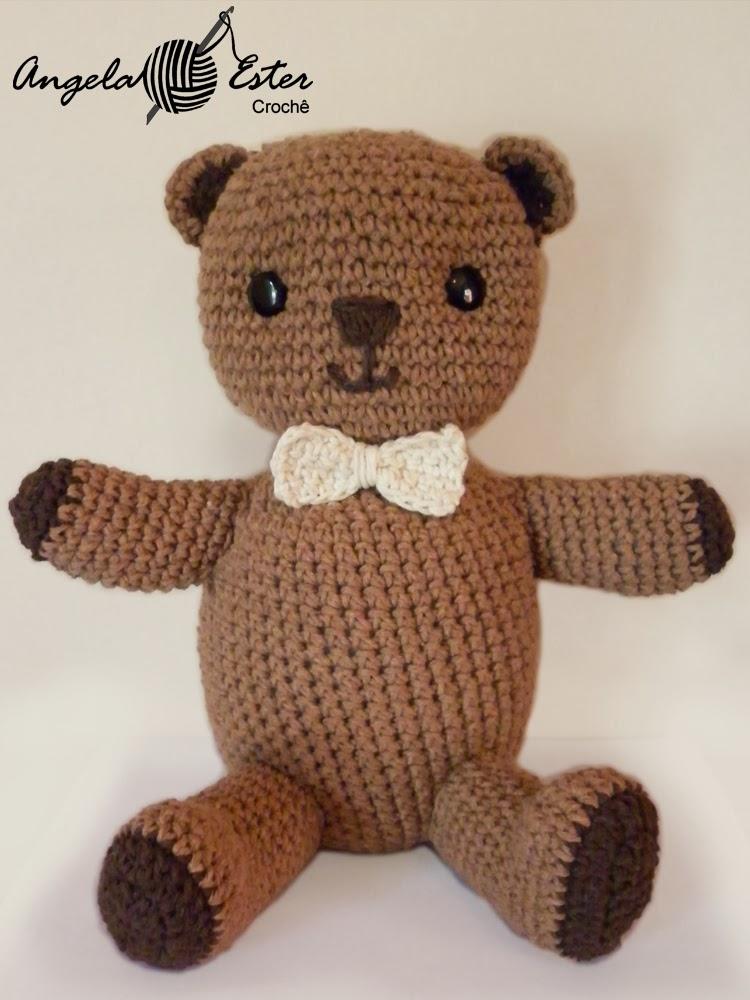 Amigurumi Rana : Angela Ester Croche: Amigurumi - Urso Caju de croch?