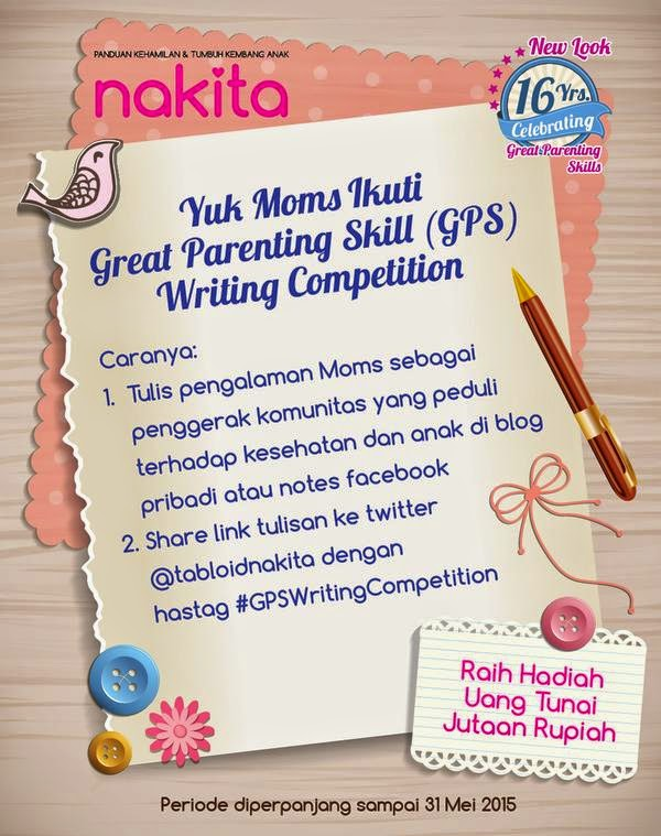 Great Parenting Skill Writing Competition